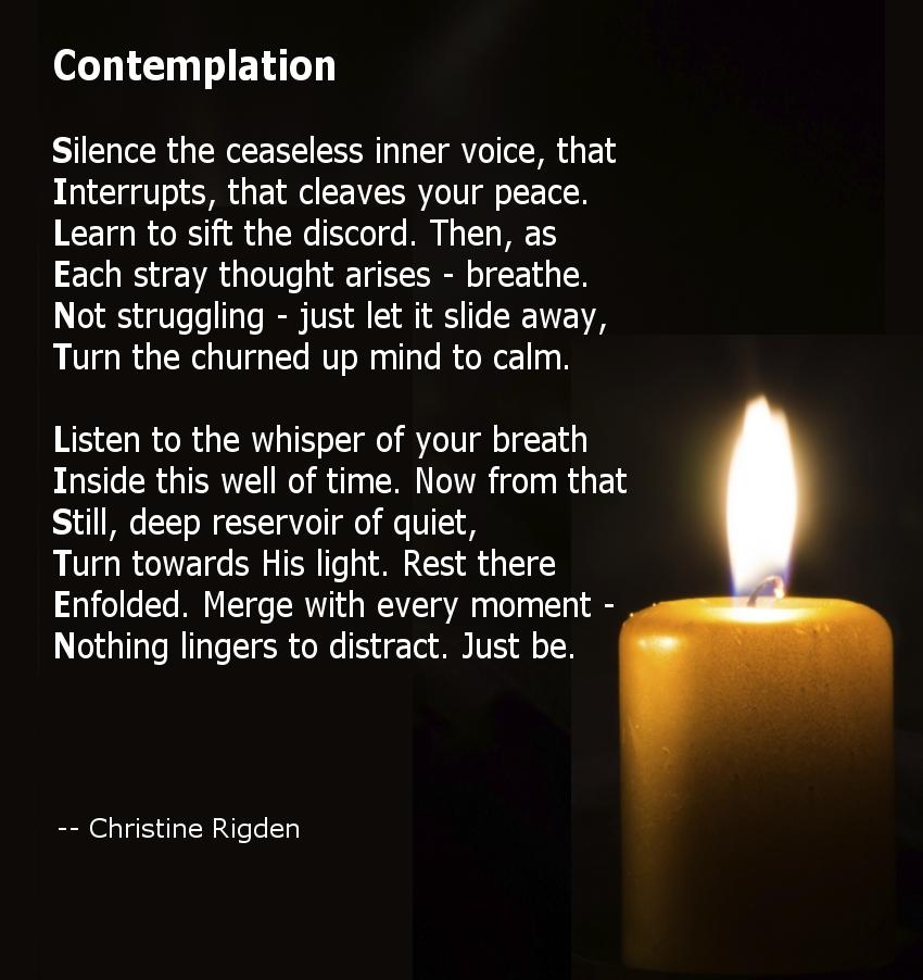 Contemplation (photo Katarina Gondova)