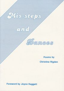 Mis-Steps and Dances, by Christine Rigden 1989